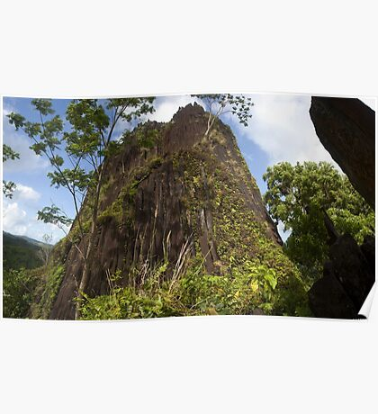 Chickenshit Mountain - Pohnpei, Micronesia Poster