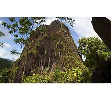 Chickenshit Mountain - Pohnpei, Micronesia Photographic Print