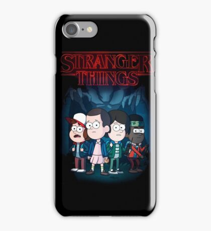 Stranger Things |Gravity Falls style| iPhone Case/Skin