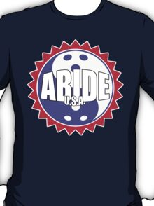 The Patriotic Abide Seal (Red, White, and Blue) T-Shirt