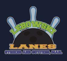 Lebowski Lanes Logo Baby Tee