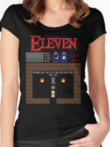 The Legend Of Eleven Women's Fitted Scoop T-Shirt