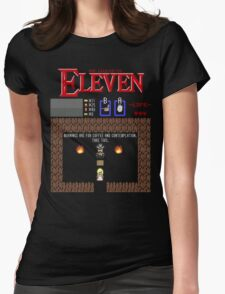 The Legend Of Eleven Womens Fitted T-Shirt