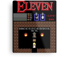 The Legend Of Eleven Metal Print
