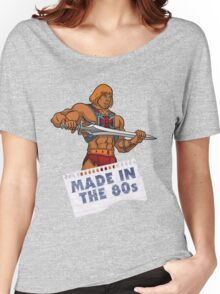 He-Man Made in the 80s Women's Relaxed Fit T-Shirt