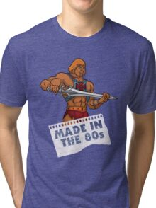 He-Man Made in the 80s Tri-blend T-Shirt