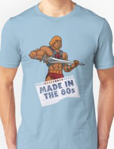 He-Man Made in the 80s T-Shirt