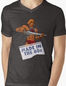 He-Man Made in the 80s Mens V-Neck T-Shirt