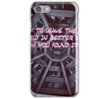 Live By iPhone Case/Skin
