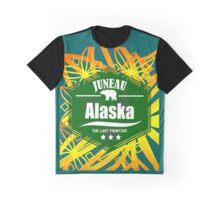 Alaska Aurora, Juneau Graphic T-Shirt