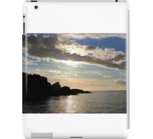 secluded bay iPad Case/Skin