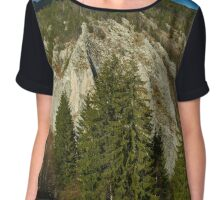 Mountain pine forests Chiffon Top
