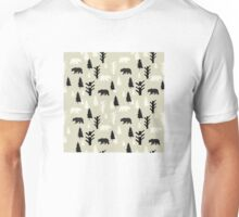 Bears In The Forest Unisex T-Shirt