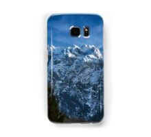 Winter landscape with rocky mountains Samsung Galaxy Case/Skin