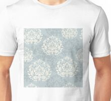 retro seamless floral pattern, vintage background Unisex T-Shirt