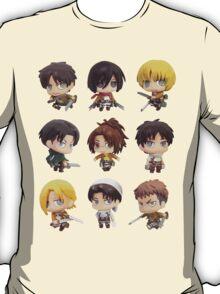 Attack On Titan: Chibi Characters T-Shirt