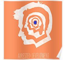 arrested development head logo Poster