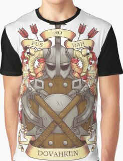 Dovah-crest Graphic T-Shirt
