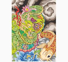 Koi dragon and koi fish T-Shirt