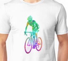 Woman triathlon cycling 05 Unisex T-Shirt
