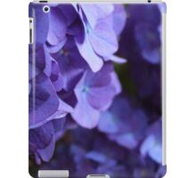 Purple!! Hydrangea iPad Case/Skin