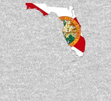 Flag Map of Florida  Unisex T-Shirt