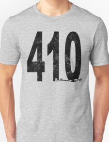 Distressed Baltimore 410 T-Shirt