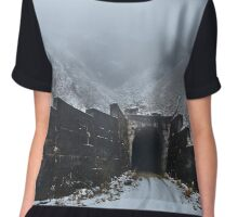 Tunnel through the mountains Chiffon Top