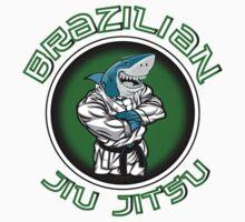 BJJ Shark Kids Tee