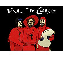 Fetch The Cusions Photographic Print