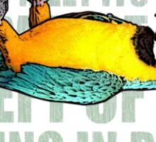 EX - Parrot Sticker