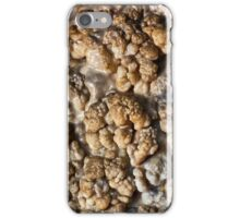 Coralloid formations (cave popcorn) iPhone Case/Skin