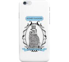 Classy Honey Badger iPhone Case/Skin