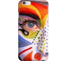 Face Paint #11 iPhone Case/Skin