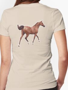 HORSE, Racing Horse, Ride, Rider Womens Fitted T-Shirt