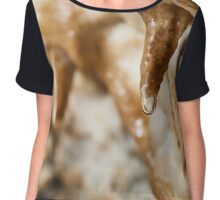 Cave curtains formations Chiffon Top