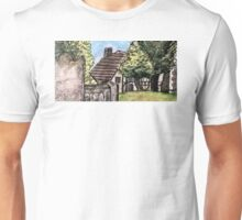 View from the church yard.... Unisex T-Shirt