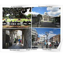 Images of Dublin, Ireland Poster