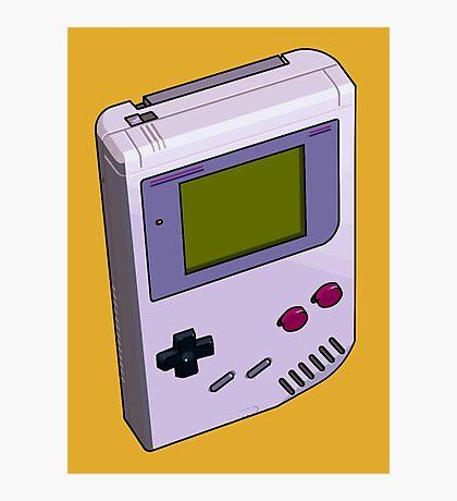 Game Boy 3D Photographic Print