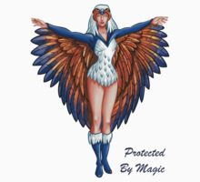 "He-Man Sorceress ""Protected By Magic"" by psychomaster"