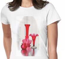 CRANBERRY GLASS TRIO Womens Fitted T-Shirt