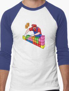Super Mario Mason Men's Baseball ¾ T-Shirt