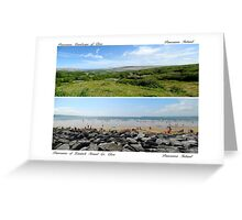 Panorama images of Ireland Greeting Card