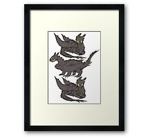 HTTYD Trio-thless Framed Print