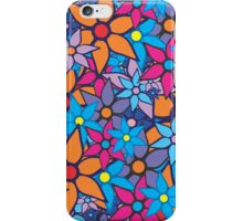 Trendy Floral Pattern iPhone Case/Skin