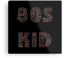 80s Kid Metal Print