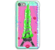 Protection for the French erection iPhone Case/Skin