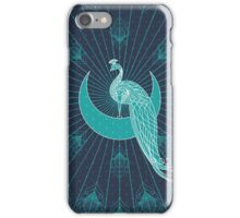 Peafowl On The Moon iPhone Case/Skin