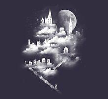 Stairway to Heaven - Dark Blue Unisex T-Shirt