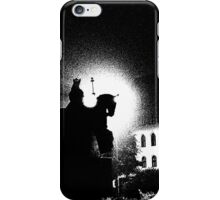 City square by night, Threshold Effect iPhone Case/Skin